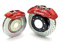 Тормозная система Brembo Gran Turismo серия GT, CHRYSLER 300 w/V6 Engine Rear (Excluding AWD) 2011 >