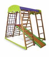 Детский спортивный комплекс для квартиры Карамелька мини