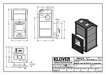 Банная печь KLOVER RT 20 P, фото 3