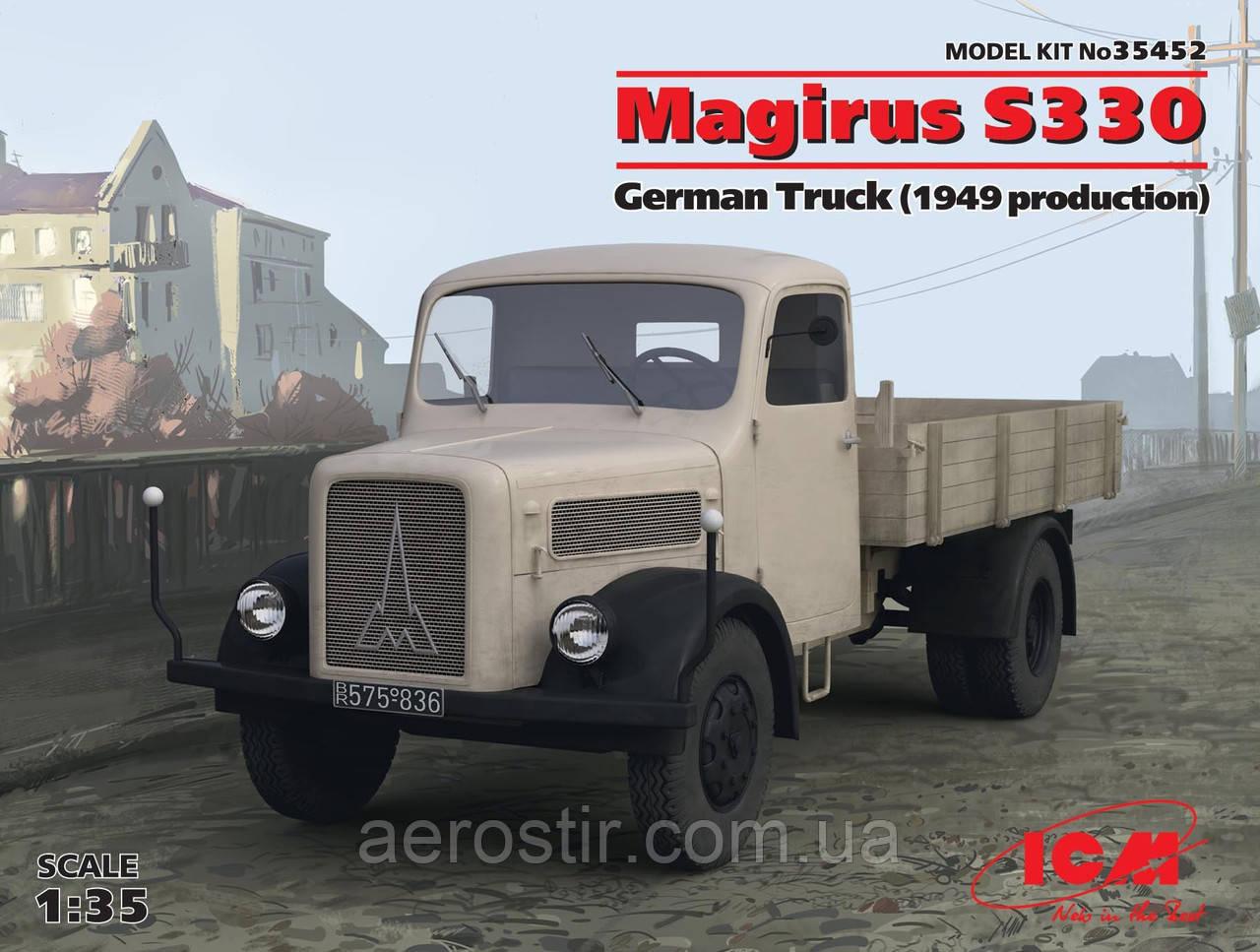 Германский грузовой автомобиль ' MAGIRUS  S330 '  1\35        ICM 35452