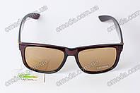 Очки солнцезащитные Lakoste коричневого цвета
