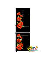 Дизайнерские наклейки на холодильник Маки. Премиум серия.