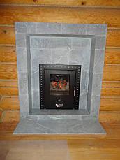 Дровяная печь для бани  KLOVER RT 35 P, фото 3