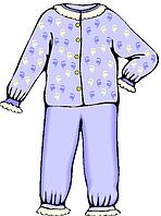 Костюмы для дома, пижамы, ночные рубашки.