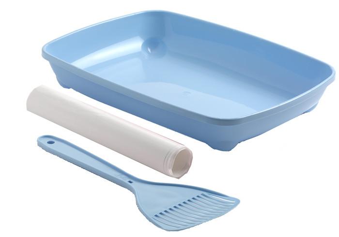 Moderna МОДЕРНА АРИСТ-О-ТРЭЙ туалет для котят с лопаткой и пакетами