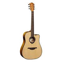 Электроакустическая гитара LAG Tramontane T66DCE