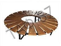 Скамейка №3 круглая
