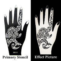 Трафаре для рисунка хной на руку (мехенди)