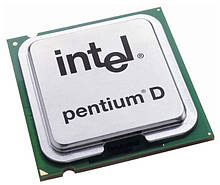 Процесори intel pentium d