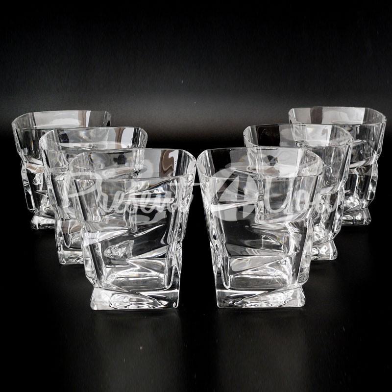 Стаканы для виски Zig-Zag, 300 мл. BOHEMIA