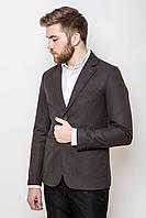 Пиджак мужской приталенный 2414 стильный (пиджаки молодежные)