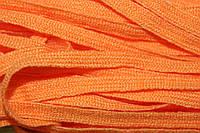 Тесьма акрил 6мм (50м) оранжевый , фото 1