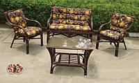 """""""Makita"""" (Индонезия) — изящная мебель из натурального ротанга, 3 варианта расцветки мягких элементов"""