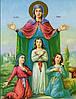 Значення ікони Віра, Надія, Любов та їх мати Софія
