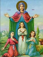 Значения иконы Вера, Надежда, Любовь и их мать София