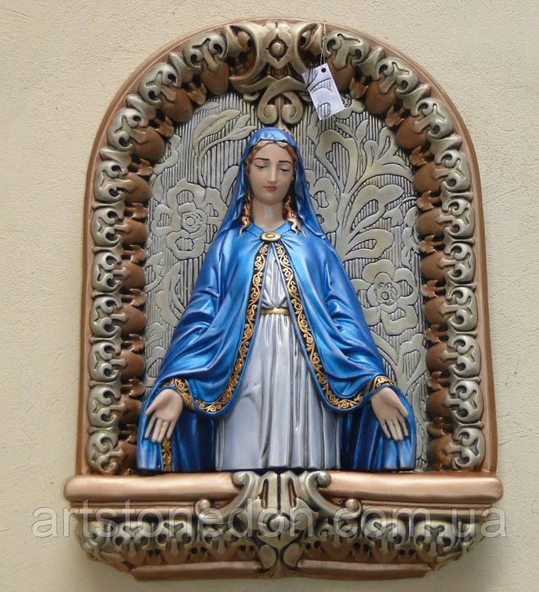 Образ Пресвятой Девы Марии из гипса №3