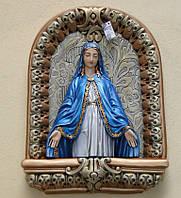 Образ Пресвятой Девы Марии из гипса №3, фото 1