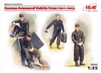 German Armoured Vehicle Crew [ 1941-1942]   1\35  ICM 35614