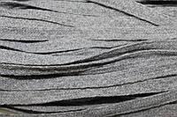 Тесьма акрил 6мм (50м) серый , фото 1