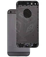 Корпус для iPhone 5S имитация в стиле iPhone 6, черный (Space Gray)