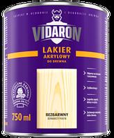 Лак Vidaron нитро для дерева глянец бесцветный (1л)