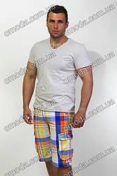 Мужские шорты в клетку