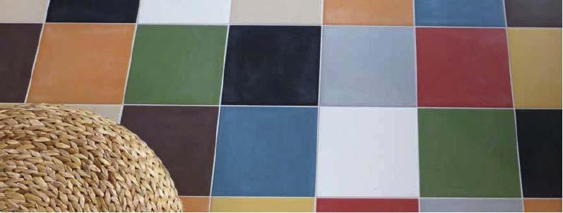 Базовая декоративная плитка одноцветная в марокканском стиле для стен и пола моноколор