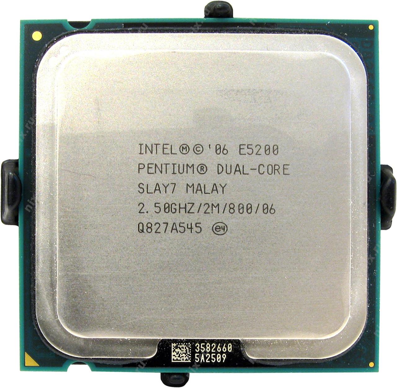 Процесор Intel Pentium Dual-Core E5200 2.50 GHz tray