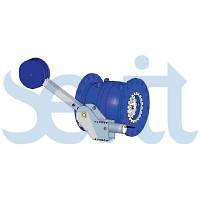 T.I.S SERVICE Игольчатый клапан с гидравлическим цилиндром и противовесом F5000 010,016,025,040,064
