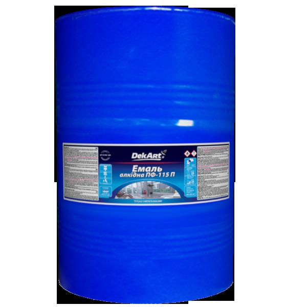 Эмаль Dekart ПФ-115П светло-голубая 50кг Полисан