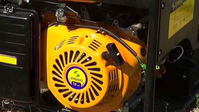 Sadko GPS-6500E (5,5 кВт), бензиновый генератор фото 7