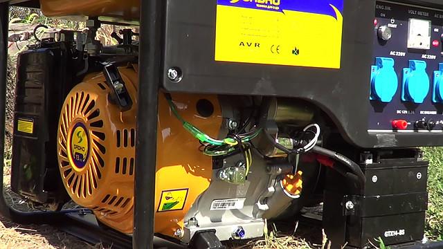 Sadko GPS-6500E (5,5 кВт), бензиновый генератор фото 10