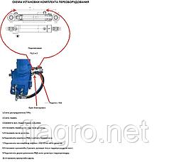 Комплект для установки дозатора на ГУР МТЗ-80,82, фото 3