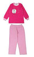 Детская велюровая пижама 110