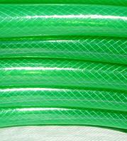 """Армированный нитью шланг (прозрачный цветной) """"Стандарт"""" - 1-1/4"""" (31мм), длина 50м."""