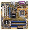 Материнская плата ASUS P5GV-MX, i915GV, s775 б/у, фото 2