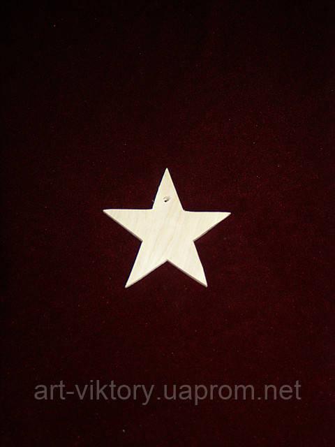 Елочная игрушка звезда