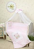 Комплект постельного белья для новорожденных Мечта