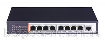 POE коммутатор 8 портов ZTP-ZP1081