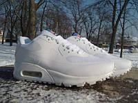 Кроссовки Nike Air Max 90 Hyperfuse white  (размеры 44-46)