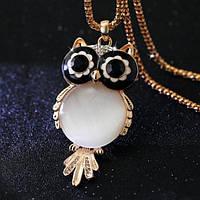 Ожерелье с большой совой