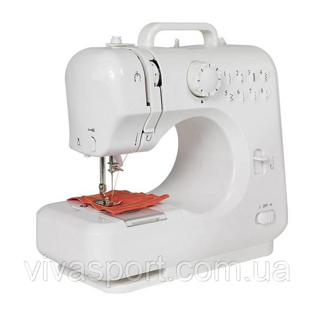 Мини швейная машинка Michley Lil Sew Sew FHSM-505 с оверлоком