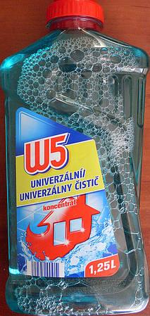 Универсальное моющее средство W5 all-purpose cleaner морская свежесть 1.250 мл.