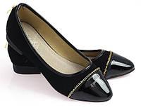 Женские балетки 938-8 BLACK
