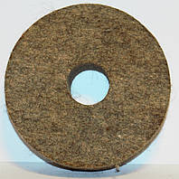 Круг войлочный 150 мм жесткий