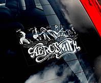 Aerosmith стикер