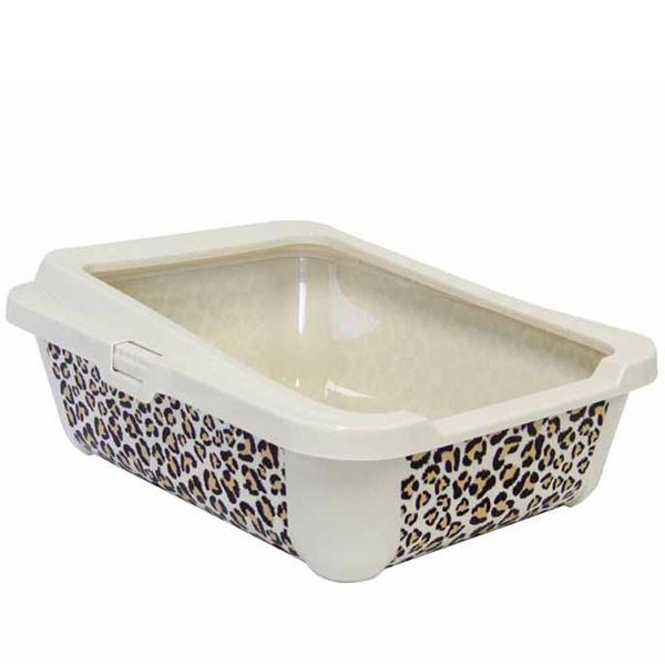Moderna МОДЕРНА СТИЛЬ туалет для кошек с бортиком