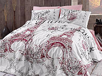 """Комплект постельного белья First Choice Ranforce """"Romantica Pudra"""""""