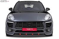 Юбка (спойлер) переднего бампера Porsche Macan