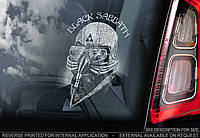 Black Sabbath стикер
